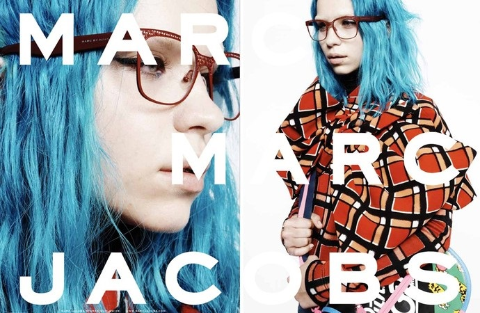 Кадр изрекламной кампании Marc by Marc Jacobs