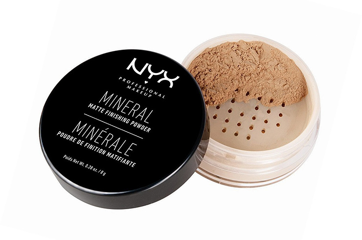Минеральная пудра Mineral Mate Finishing Powder, NYX Cosmetics