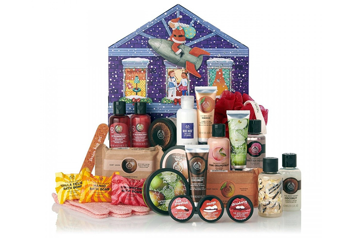 Адвент-календарь Advent Calendar 2019, The Body Shop