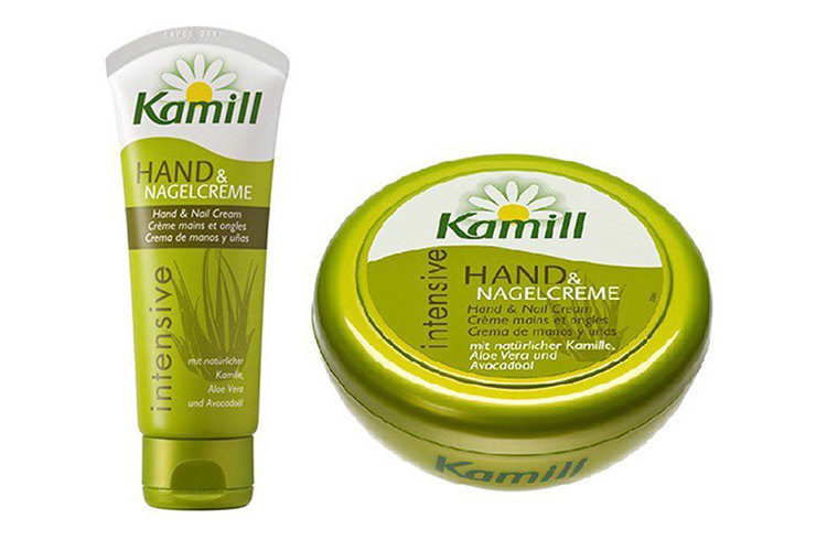 Herbal Hand & Nagelcreme Organic Chamomile Extract, Bisabolol and A Five-Herb Extract, Kamill