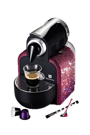 Кофемашина, Nespresso Essenza Limited Crystal Collection