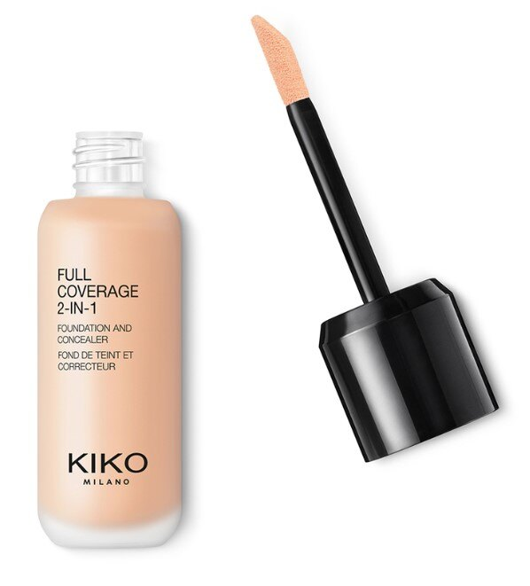 KIKO Full Coverage 2-in-1 Foundation & Concealer, 1779 руб.