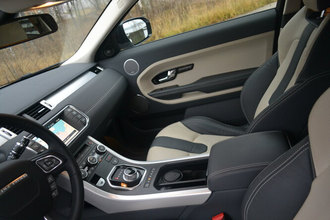 Range Rover Evoque Coupe Dynamic