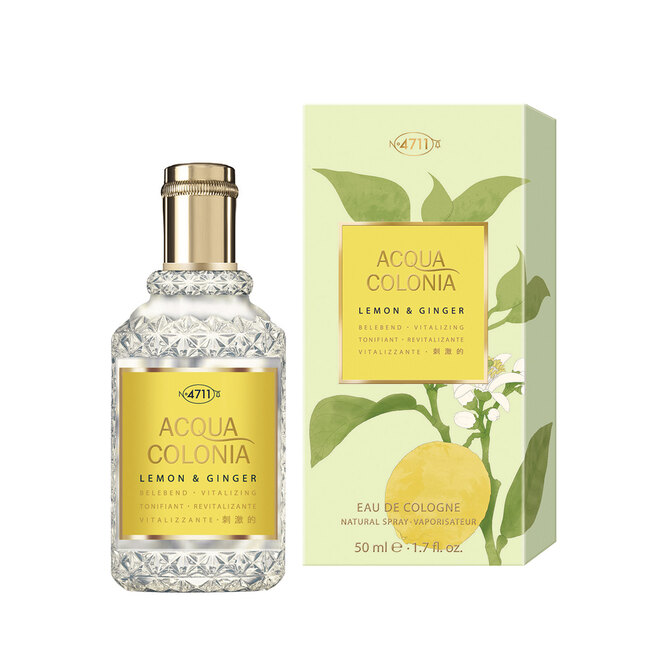 Acqua Colonia Lemon Ginger, 4711