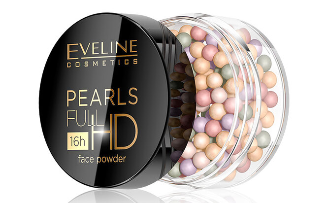 Pearls Full HD 16h СС Face Powder,  Eveline Cosmetics