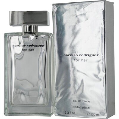 Туалетная вода Narciso Rodriguez for Her Silver Edition, 19580 руб.