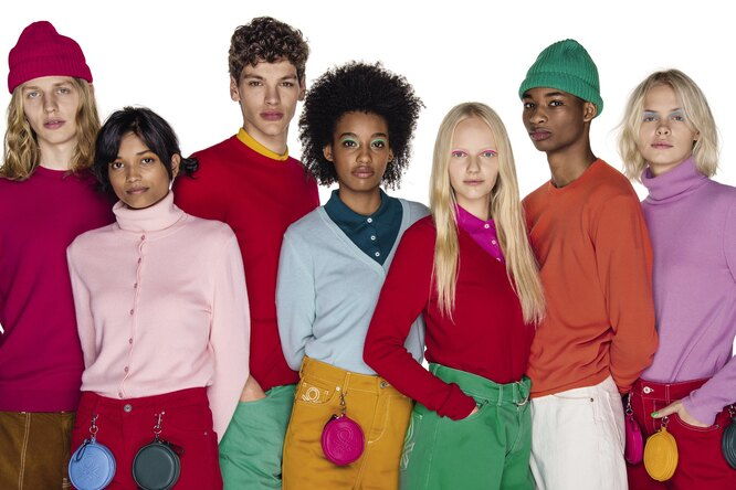 United Colors of Benetton x Woolmark: коллекция из 100% шерсти Wool So Cool