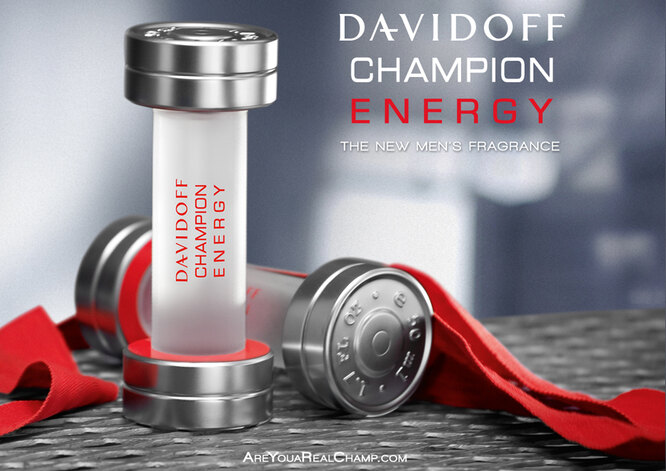 THE NEW FRAGRANCE BY DAVIDOFF