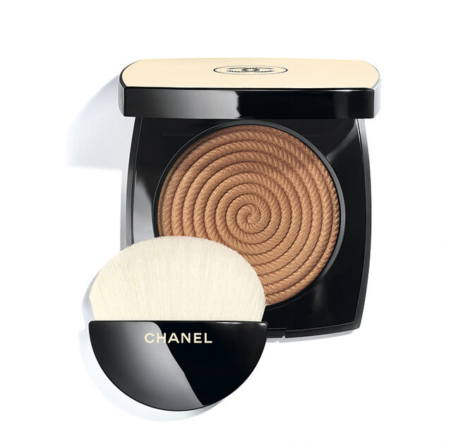 Les Beiges Healthy Glow Illuminating Powder в оттенке Sunset, Chanel