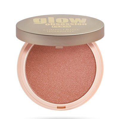 Compact Blush Highlighter, Glow Obsession, Pupa