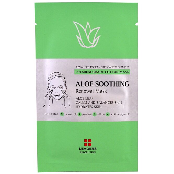 Маска Aloe Soothing Renewal Mask, Leaders, 295 руб.