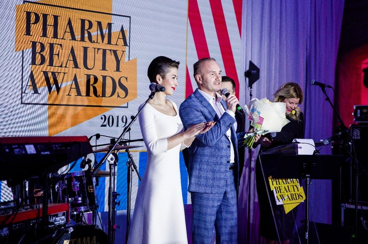 Тина Канделаки, Наталья Бардо и Аглая Тарасова на Pharma Beauty Awards