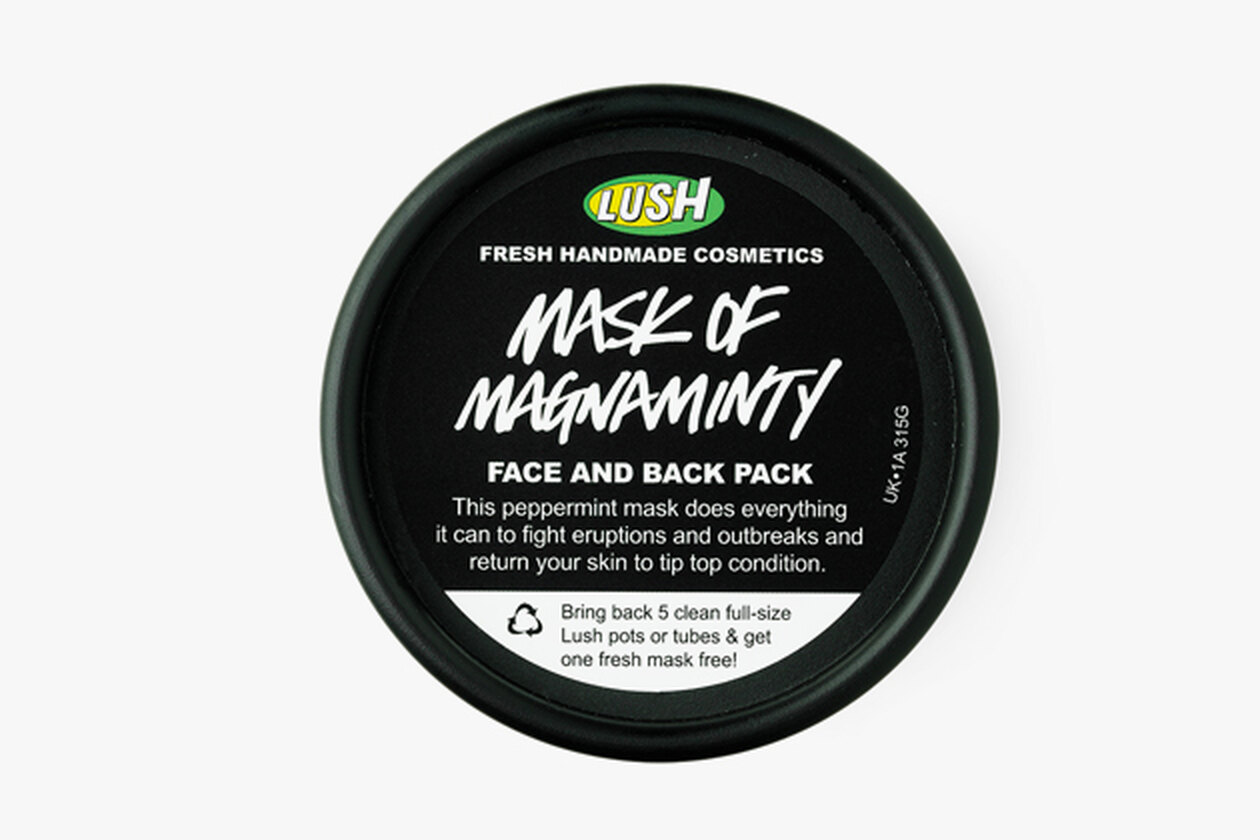 очищающая мятная маска для лица Mask Of Magnaminty