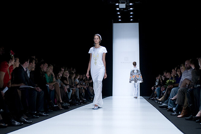 Показ Borodulin's на Mercedes-Benz Fashion Week