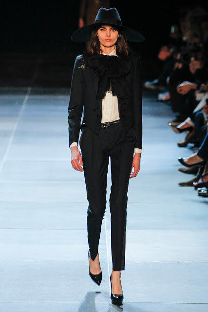 Saint Laurent Paris Весна-Лето 2013