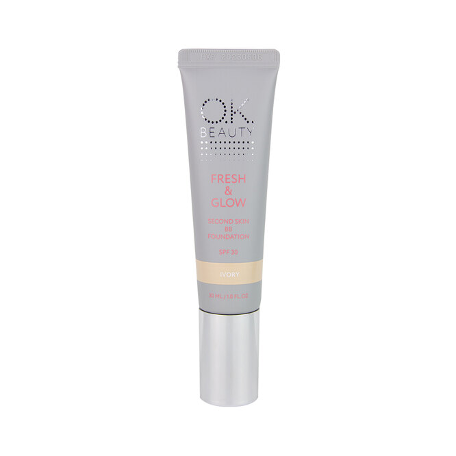 Fresh & Glow Second Skin BB Foundation, OK Beauty