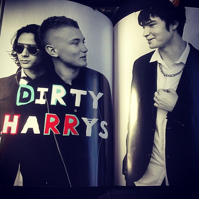 The Dirty Harrys на страницах Love Magazine/Instagram