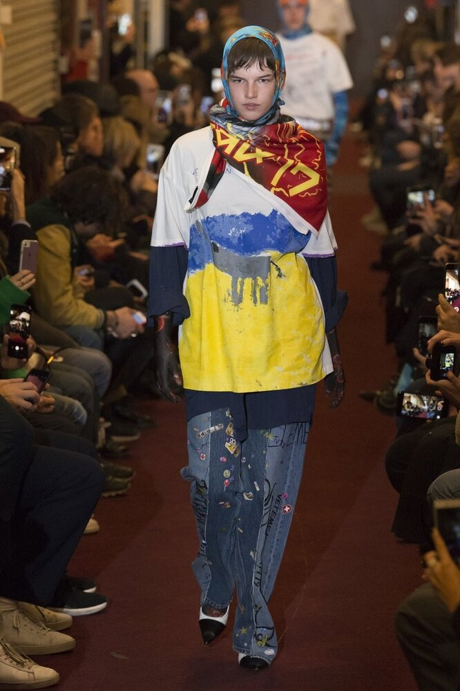 Vetements осень-зима 18/19