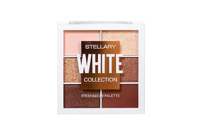 Палетка теней White Collection, Stellary