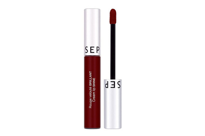 Жидкая помада Cream Lip Shine Lipstick в оттенке 11, Sephora Collection