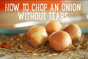 How to Chop an Onion Without Tears